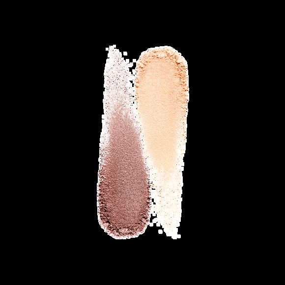 Двойные тени для век с шелковой текстурой