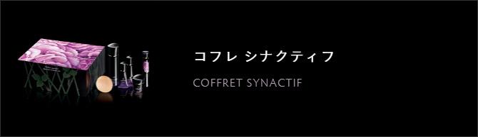 コフレ シナクティフ COFFRET SYNACTIF