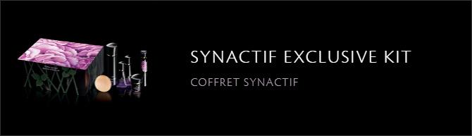 SYNACTIF EXCLUSIVE KIT COFFRET SYNACTIF